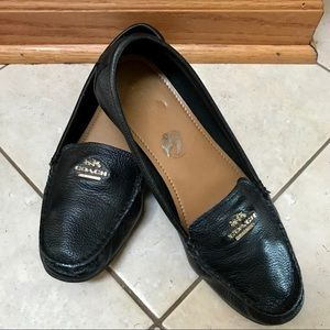 Coach Leather Loafers - Style:  Opal